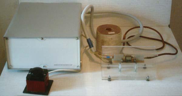 Электромагнитный генератор своими руками фото